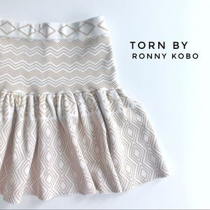 Torn by Ronny Kobo skirt, size S